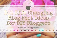 **Blogging ~ Tips & Tricks** / This board contains pins which are meant to provide helpful tips and advice to bloggers.