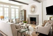 Main Living Space / inspiration for the home- living room, main areas, etc. / by Alexis Fallon