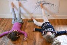 Grobmotorik und Bewegungsspiele / Bewegungsspiele für Kinder und Ideen, die die Grobmotorik und die Körperkoordination fördern