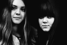 First Aid Kit / First Aid Kit is a Swedish folk duo composed of sisters Johanna and Klara Söderberg, whose close vocal harmonies and woodsy, folk-influenced their songwriting. ❤ / by Shelby Jones