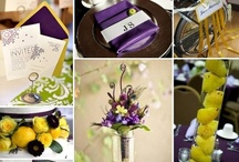 Wedding by Color / Plan your wedding around a color! On this board, we show examples of Blue, Yellow and Purple :) / by 123Print – Online Printing