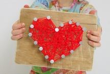 Valentinstag und Muttertag - DIY Basteln mit Herz / Selbstgemachtes für Mama und alle Menschen die wir lieben! Basteln mit Kindern und ganz viel Herz!