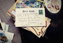 postcard and postcard