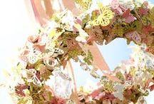 Summer Wedding ideas / Maypoles & Seaside tent?