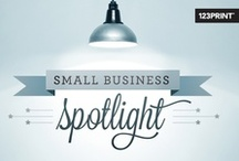 Small Business Spotlight / Each week, 123Print will shine it's spotlight on a featured Small Business. Check out Facebook page every Thursday, because the next featured business could be YOURS! / by 123Print – Online Printing