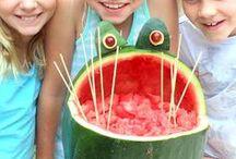 Alles Wassermelonen! - Watermelons / Wer so sehr Wassermelonen liebt wir ich, wird dieses Board lieben! Alles mit, über und aus Wassermelone...