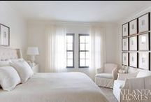 Bedroom Inspiration / Creating a calm, serene & relaxing bedroom. Spoil yourself! / by Alexis Fallon