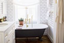 Bathroom Inspiration / beautiful spaces / by Alexis Fallon