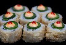 Benihana Sushi / Benihana is internationally known for its teppanyaki cooking on hibachi tables. Today, Benihana is also becoming known for its mouthwatering sushi, serving popular items such as sashimi, specialty maki and hand rolls.