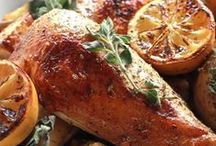 Greek Chicken-Kota-Kotopoulo / Greek Style Chicken  / by Vetta Kelepouris-Bailey