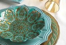 Tabletops / Table settings and color