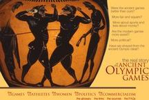 Greek Olympic Games & Ancient Olympia / History of the Olympics / by Vetta Kelepouris-Bailey