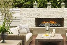 Outdoor Spaces / from porches to patios to pools...endless outdoor inspiration! / by Alexis Fallon