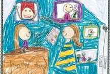 Children Helping Children Coloring Contest / These are the winning drawings to benefit St. Jude Children's Research Hospital for the Children Helping Children Coloring Contest 2014. With your help, we raised $50,000 in 2014.