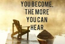 listen ~ 2015 / My OLW for the year 2015...can't wait to see what it has to offer / by Kathy Hoffman