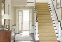 Entryway Inspiration / Entryway/hallway/foyer inspiration! This is the first thing most people see when they enter your home, so make it special! / by Alexis Fallon