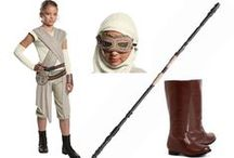Star Wars: The Force Awakens Costumes & Accessories / Do you feel it? #ForceFriday has arrived and Star Wars: The Force Awakens is on its way, bringing new heroes, heroines, villains and villainesses to bring new generations of Star Wars fans together. We're here to help you awaken that inner Star Wars fandom in your young Padawans. Each of these Star Wars VII costume ideas comes right out of the new movie and is guaranteed to make their eyes light up.