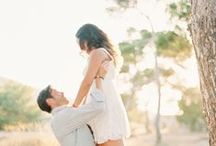 Engagement Photo Ideas / Get fabulous ideas for your engagement photo shoot.  / by 123Print Wedding Invitations