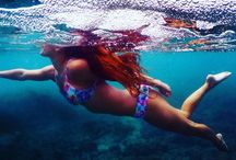 Under the Sea with Kulani Kinis / Swimwear in Action
