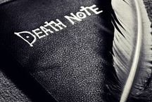 fandom : death note  [ しにがみ ] / I do good, but I am not an angel. I do sin, but I am not the devil.