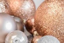 Shine the Holidays with Copper / Why not add a little shine to your Christmas cards? Here you'll find inspiration to add shine to any part of your Christmas, especially to those words that can make anyone's Christmas a wonderful time of year.