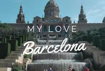 Barcelona / Barcelona is the wonderful city where I'm going to spend the next months. I already fell in love with the beauty and diversity here. Food, architecture and daily life!