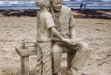 Sand sculpture@