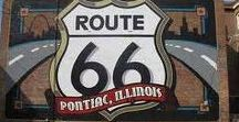 Route 66 - Illinois / A selection of hotels, motels, sights, attractions, RV parks and campsites found along Route 66 in Illinois.  As recommended by users of drivingroute66.com