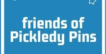 friends of Pickledy Pins / pins from fans, supporters and pals of Pickledy Pins