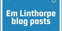 Em Linthorpe blog posts