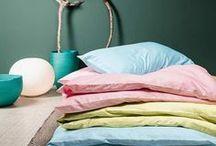 Divina pastel bedding / Bed linen made in Switzerland