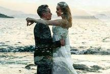 Крит / Свадебная фотосессия на улицах греческого города, а так же на скале и берегу моря