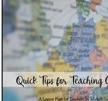 A Lesson Plan for Teachers by Michele Luck's Social Studies / Learn great tips and tricks for teaching in the secondary classroom from this blog by Michele Luck of Michele Luck's Social Studies. Find tips on classroom organization, classroom management, teaching ideas and strategies, and so much more for the middle and high school teacher.