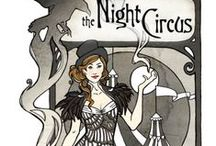 The Night Circus / Le Cirque des Reves. The Night Circus by Erin Morgenstern. Things about and inspired by... Brainstorming ideas for party, deciration, opening night revuer costumes etc. / by Lynnae Pulsipher