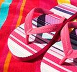 """Beach Sandals / Beach sandals and flip-flops... or as I like to call them... """"flippies""""!"""