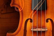 Violins and art
