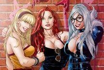 Comicbook Girls / by Martin Gomez