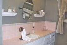 HOME // Pink Bathroom Fixes