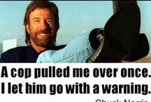 Chuck Norris / Need no explanations to this one. It is Chuck Norris.