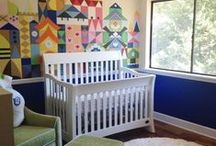 Nursery Inspiration / Modern nursery inspiration that will get your inner artist going. #trendymoms #millenialmom