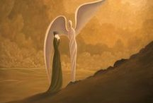 Heavenly Angels / My mom died of lung cancer in February of 2016. This is to remember all moms and loved ones that are now with God in heaven... Our own perfect guardian angels.