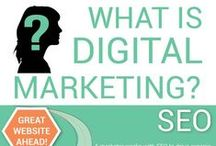 Digital Marketing / Digital marketing is an umbrella term for the targeted, measurable, and interactive marketing of products or services using digital technologies to reach and convert leads into customers and retain them. This board will help you to find tips to promote brands, build preference, engage with customers and increase sales through various digital marketing techniques.
