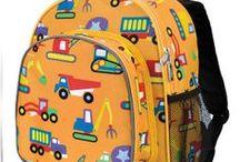 Kids backpacks and bags / Cute kids backpacks, kids duffle bags, kids rolling luggage and more