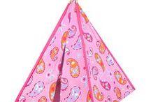 Play Teepee Tents / Colorful Kids Play Teepee Tents