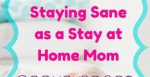 Staying Sane as a Stay at Home Mom / A group board for stay at home moms. Tips, tricks, hacks, and how to stay sane as a stay at home mom. Post anything that will help moms not want to pull out their hair at the end of the day! No max, just share 1 pin for every 1 you post. To join: follow this board and me, and email me at shawna@stresslessbehealthy.com