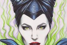 MALEFICENT (drawings)