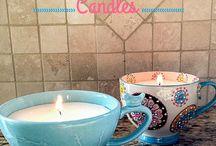 Candles / výrobky z vosku