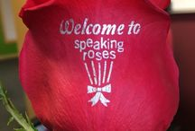 Speaking Roses Colombia / Estampado en rosas frescas