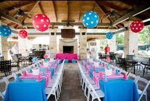 Turquoise and Pink Birthday Party / by Courtney Price I Glamour Avenue Parties