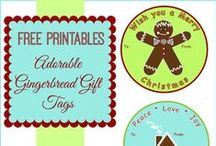 Free Printable Goodies / Printable cards, invitation, gift tags, canning jar labels and more - free for the printing!